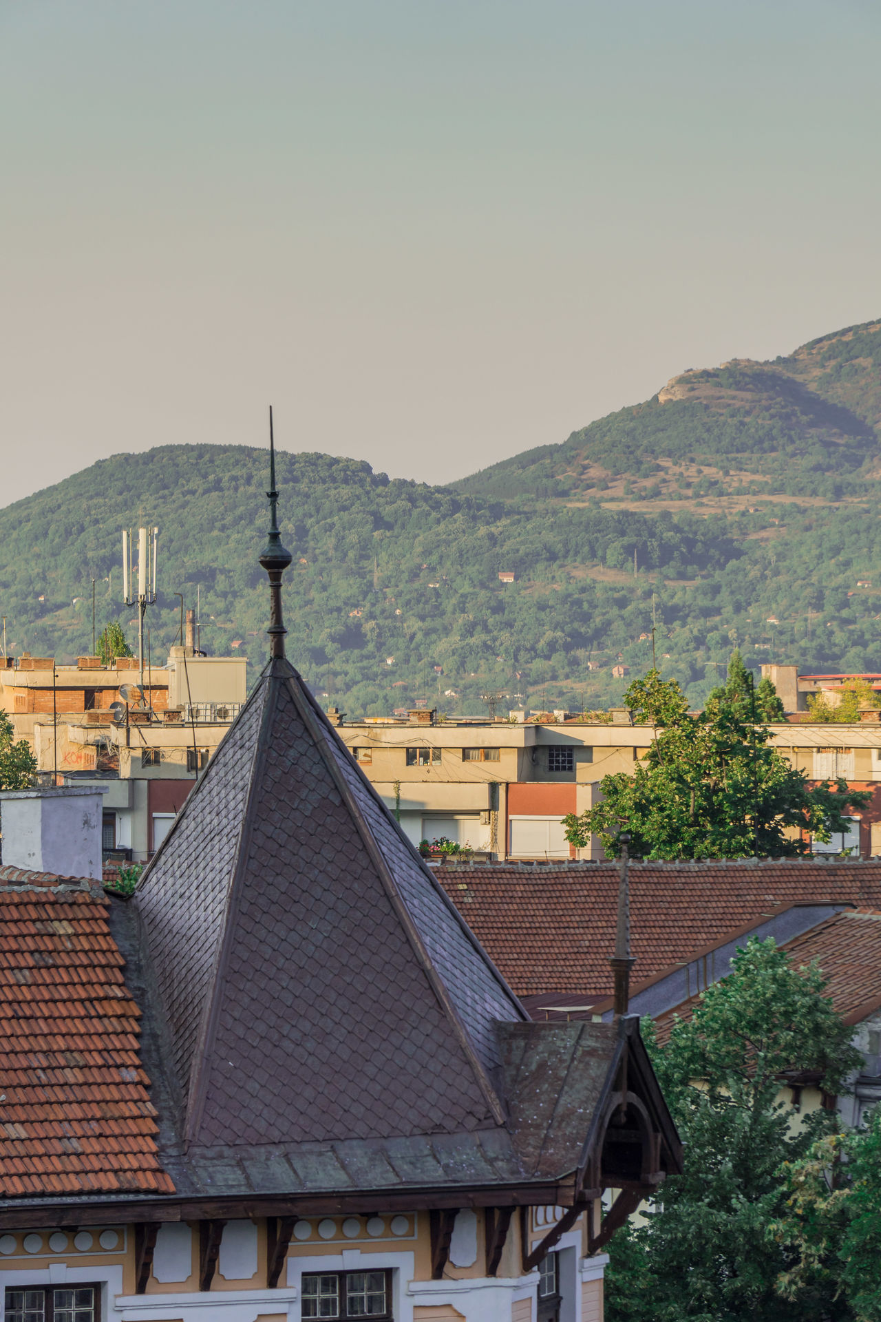 Sky Architecture Vratsa Nature Outdoors Rooftop Rooftops