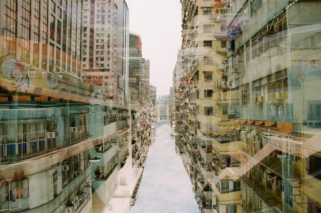 Nikon Nikon F2 Film Film Photography Filmphotography Filmisnotdead Filmcamera Film Is Not Dead 35mm Film 135film Fujifilm City Architecture Double Exposure Doubleexposure HongKong Hong Kong