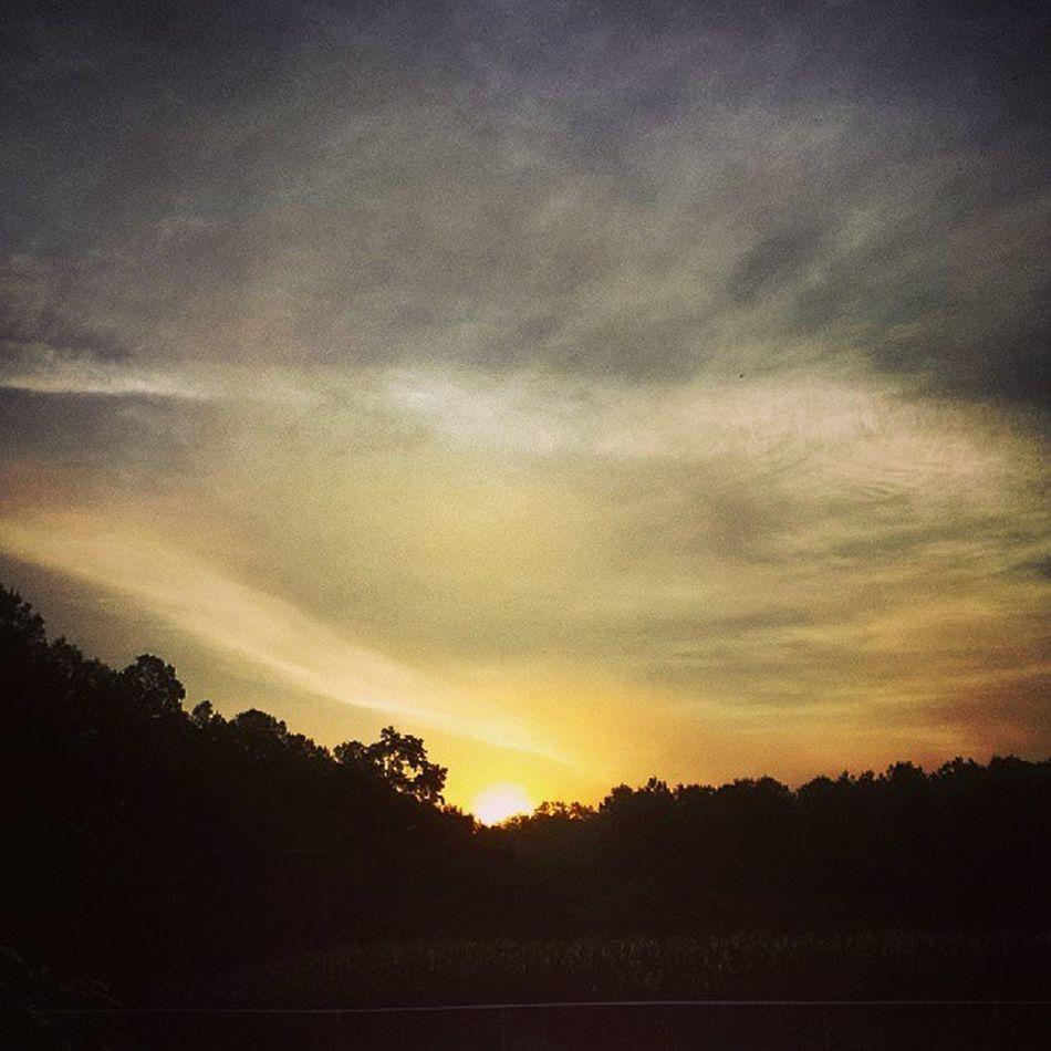 Good morning, sunshine! Harrisonga Sunrise Georgia Cloudporn cloudscape