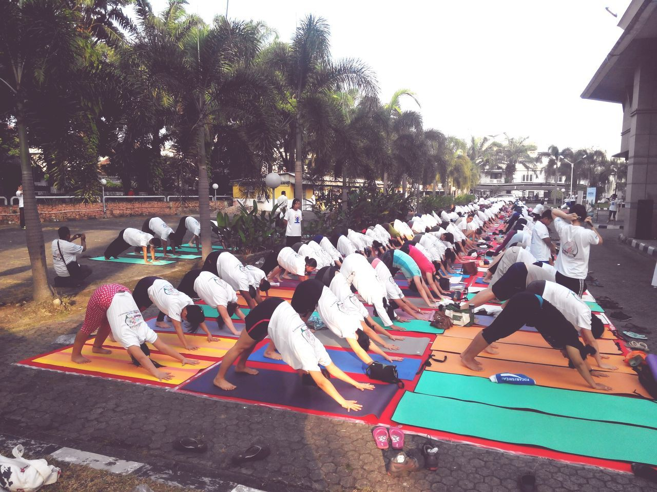 Internationalyogaday Check This Out Taking Photos Relaxing Yoga