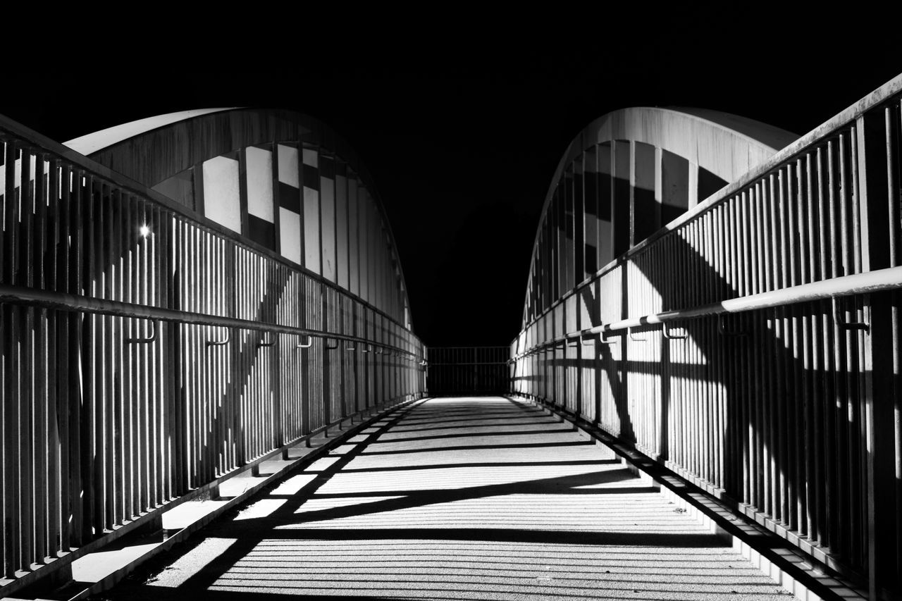 Arch Architecture Bridge Bridge - Man Made Structure Built Structure Light And Shade Night Nightphotography No People Outdoors Shadow Shadows Shadows & Lights