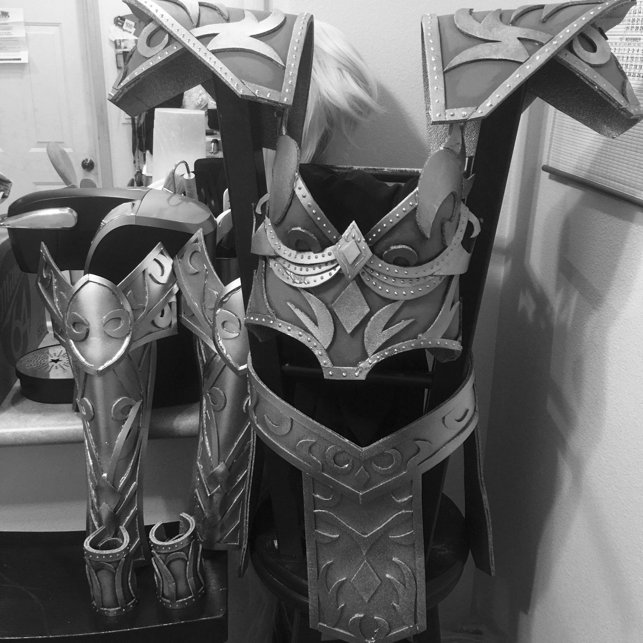 My hobby.. :) Handmade Artsy My Hobby Craft Cosplay Elf Halloween Warcraft Armor Foam