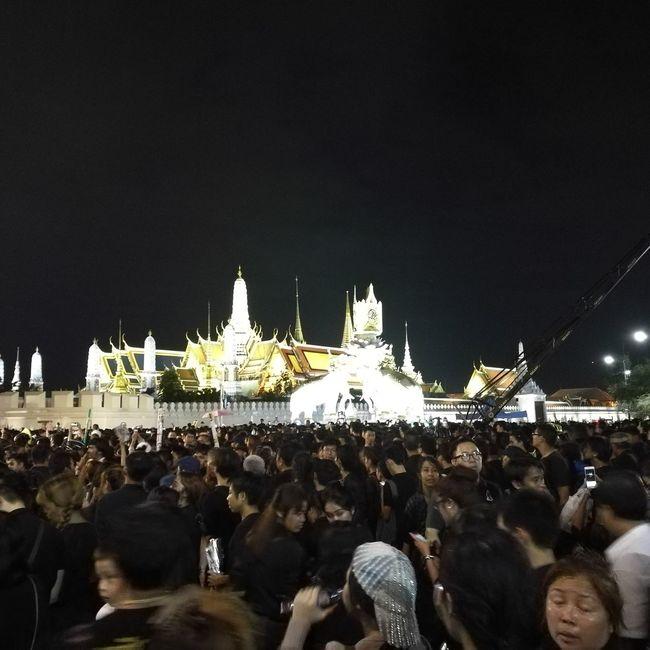 King Grand Palace Bangkok Thailand Pround