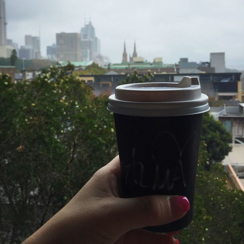 Coffee to go closeup Caffeine City Cityscapes Close-up Coffee Coffee Break Coffee Time Coffee To Go Coffee ☕ Cup Disposable Cup Espresso Espresso Macchiato Hand Holding Human Body Part Latte Mocha Morning Person Perspective Plastic Cup Take Out Takeaway View