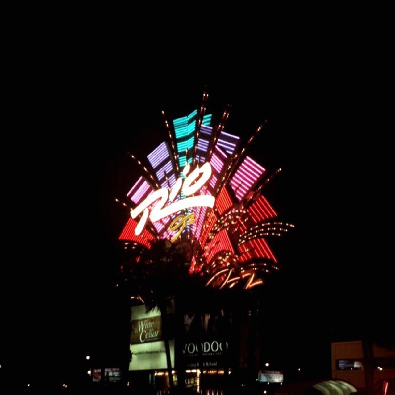 Rio Hotel and Casino Nightlife Arts Culture And Entertainment Neon First Eyeem Photo Casino Las Vegas Hotel Sign Entertainment Gamble Nevada