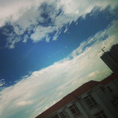 ☁☁蓝蓝的天空☁☁