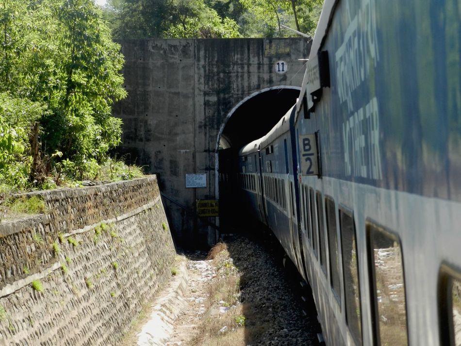 The Journey Is The Destination Trainportal Trainride Traintunnel Trainthroughtunnel Urbanvillage