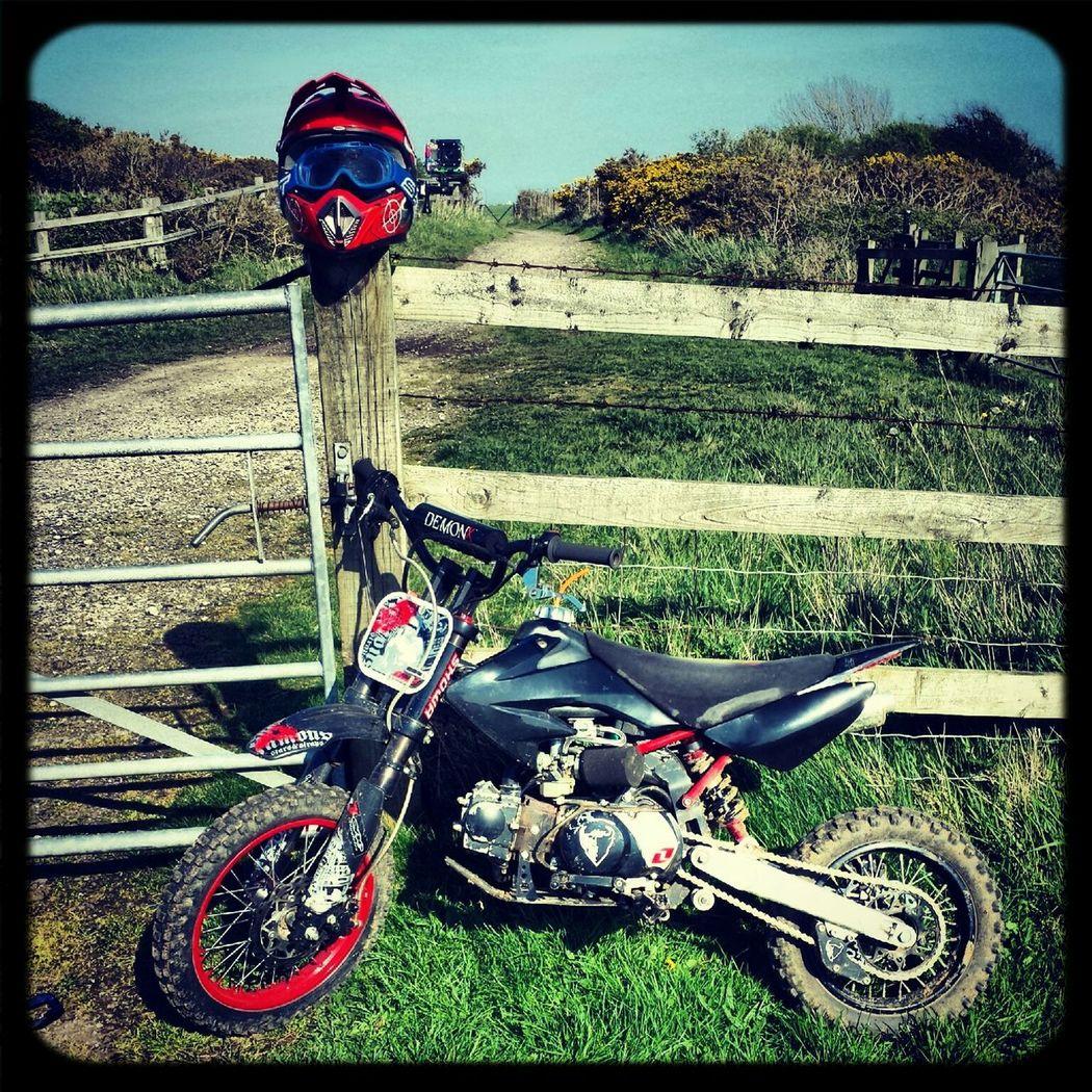 capel ride demonx 110cc pitbike Demon X 110cc Pitbike Whip