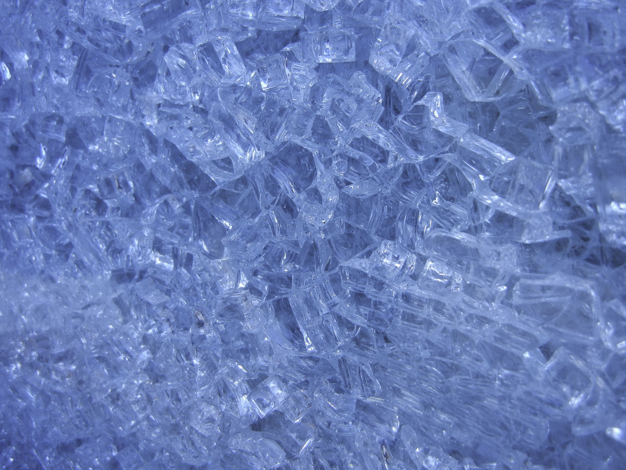 Close-up and personal with a window of shattered glass. Abstract Background Backgrounds Blue Broken Close Up Close-up Detail Full Frame Glass Macro Material Pattern Pattern, Texture, Shape And Form Shattered Shattered Glass Texture Textured  Textures And Surfaces Transparent