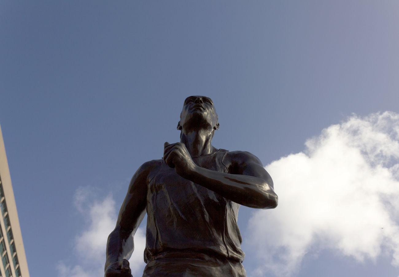 Blue Sky Get Low Jacksonville JacksonvilleFL Statue