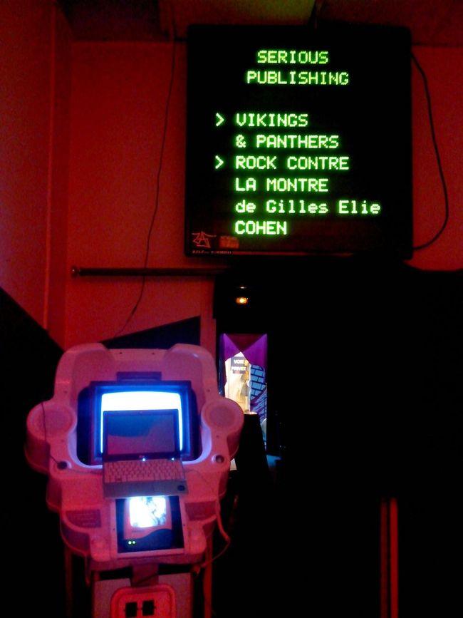 CinéClubXP ce mardi 20h : Sérious Publishing : Vickings & Panthers // Rock contre la montre.