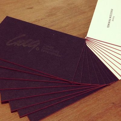 love my new business cards #gooqx #design #business #card Design Card Business Gooqx