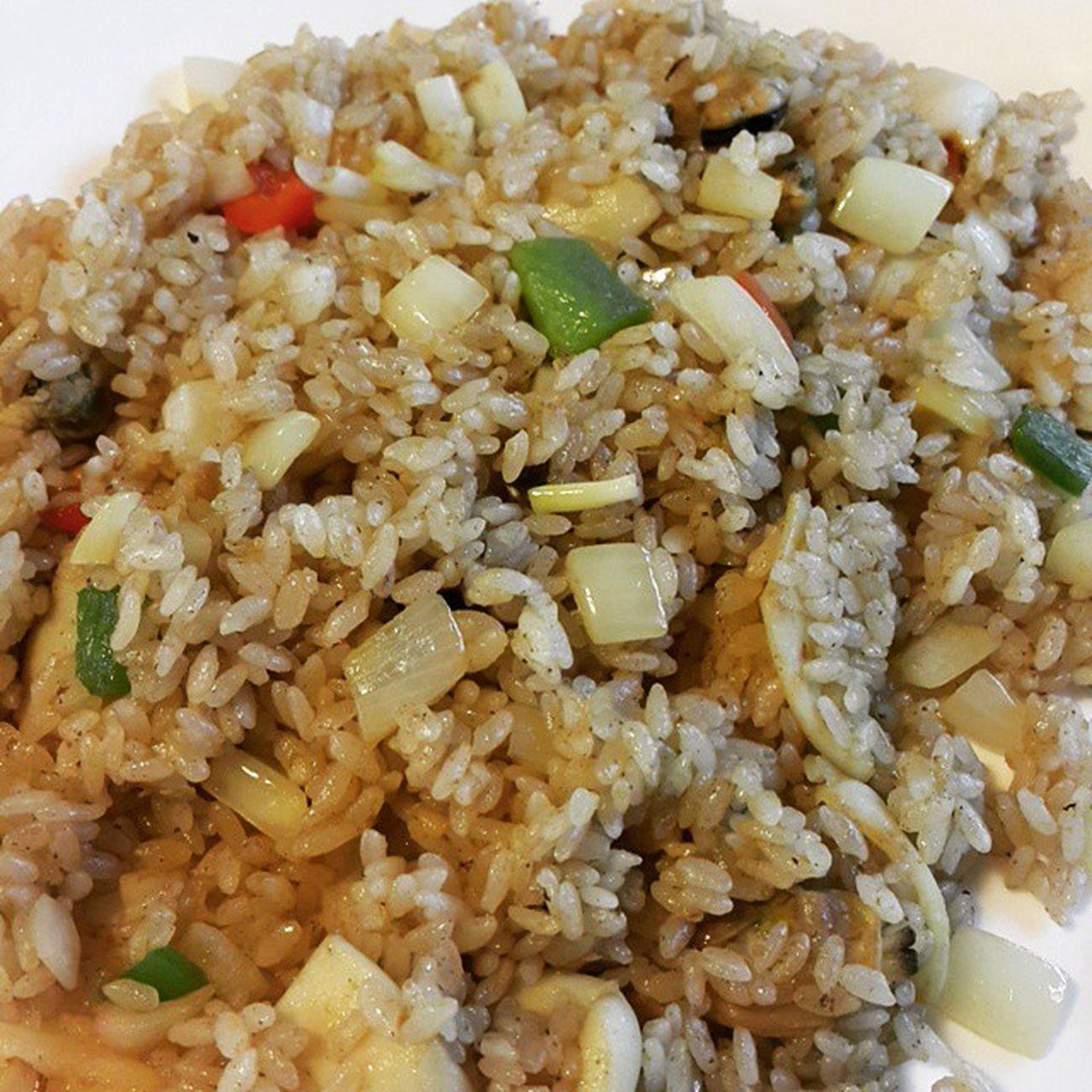 먹스타그램 먹방 해산물필라프 다락마을