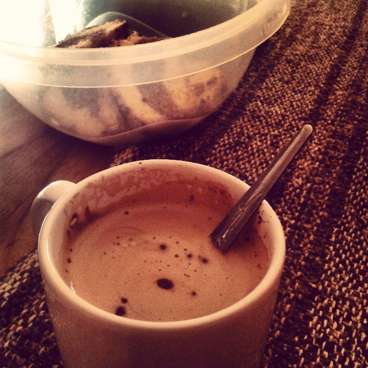 Desayuno y a la Unlu que hoy nos espera un día laaargo y cansador Buenmartes