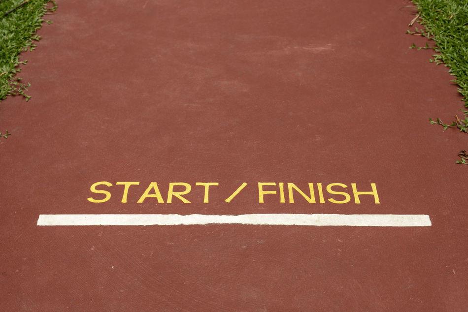 Backgrounds Close-up Communication Day Finish Line  Finishing Line Jogging Track No People Outdoors Start Line Start/finish 10k Starting Line Text