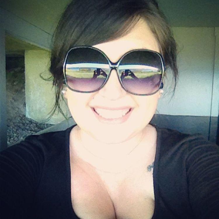 Happygirl AllSmiles  Bigglasses Tattoo cleavage