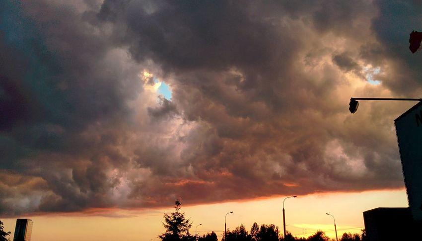 Vilnius Lithuania Clouds Skyporn