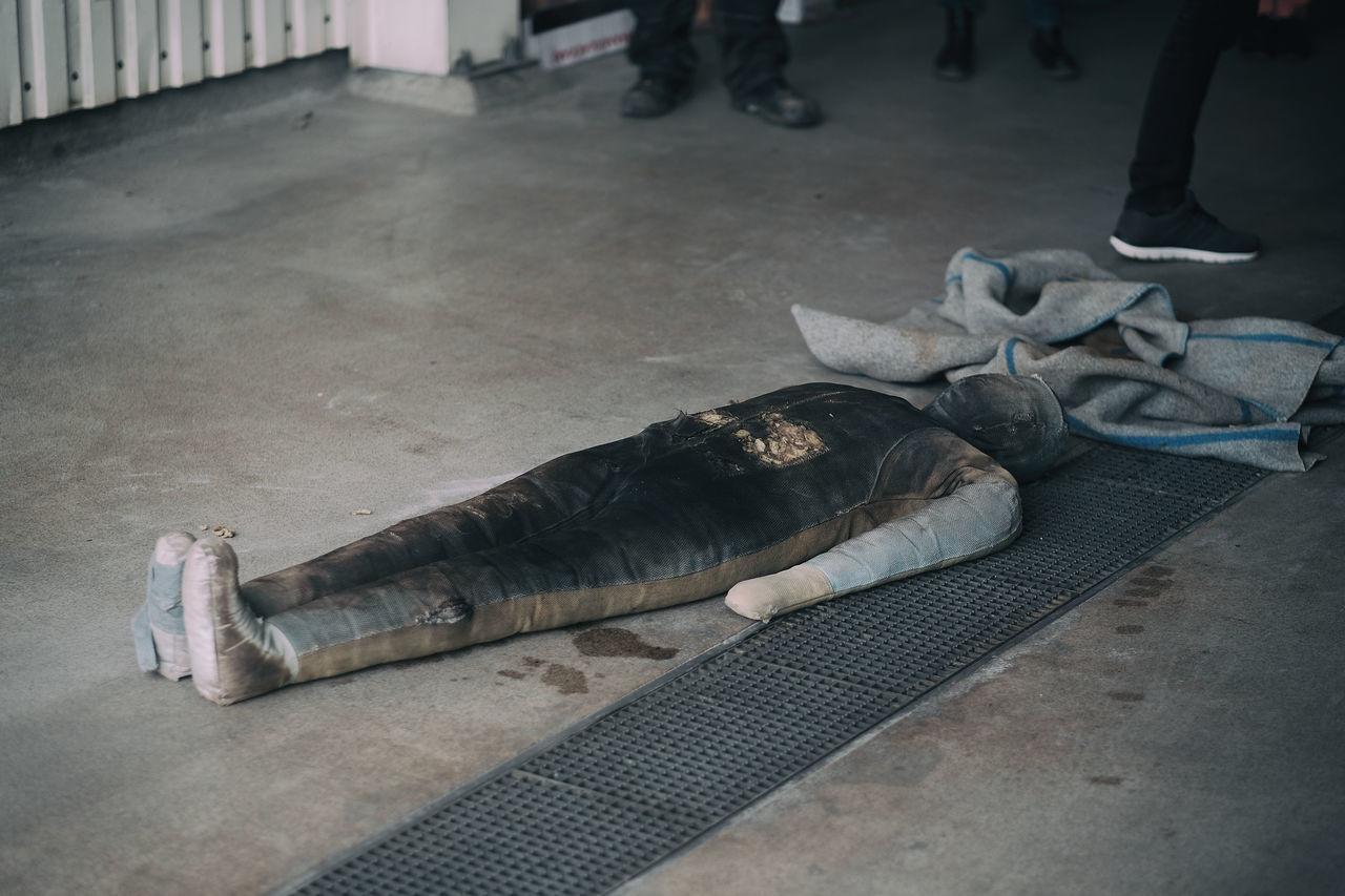 Doll Brandstation Brandutbildning Docka Doll Eyeem Sweden Firestation Floor Fujifilm_xseries Kungshamn Kurs Put Out Fire Släcka Eld Sverige Sweden Taking Photos Training X-PRO2 XF56mmAPD Yul Brinner