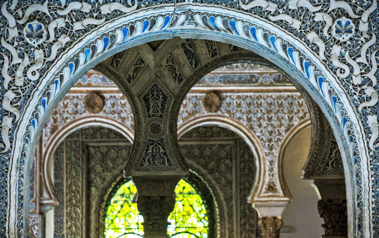 Mudéjar Seville Sevilla España Architecture Architecture_collection Multiple Layers Learn & Shoot: Layering Arabic