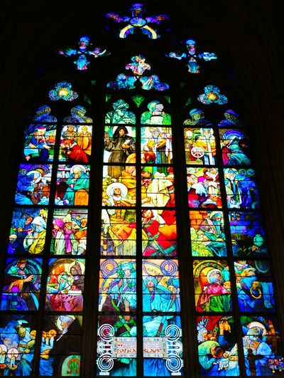Colors of the church Colors Church Window