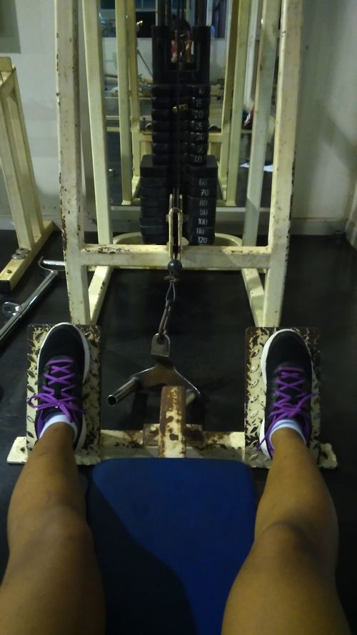 Gym Time Backday Stronger! Working Out Weighttraining
