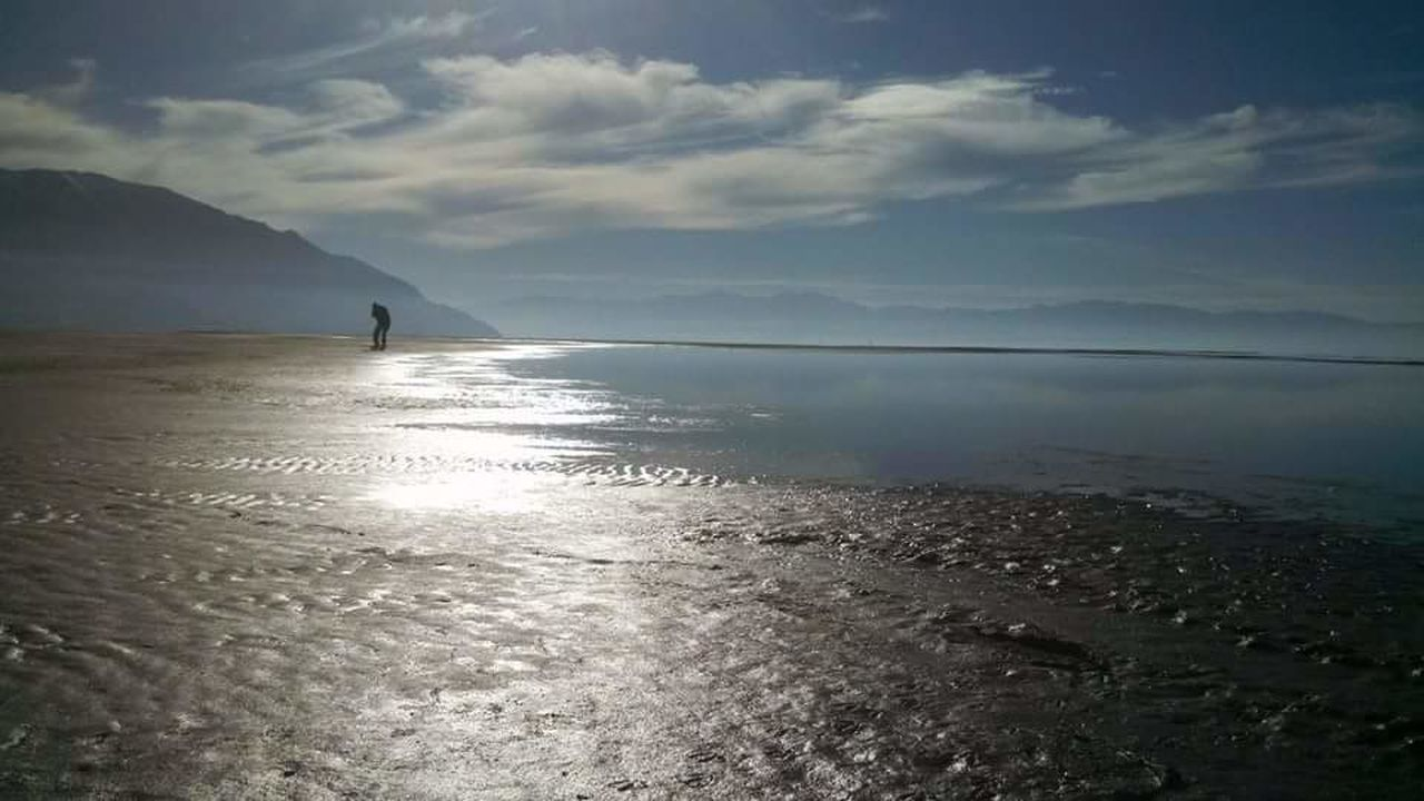 sea, water, scenics, sky, nature, beauty in nature, tranquility, tranquil scene, outdoors, no people, beach, day, cloud - sky, horizon over water