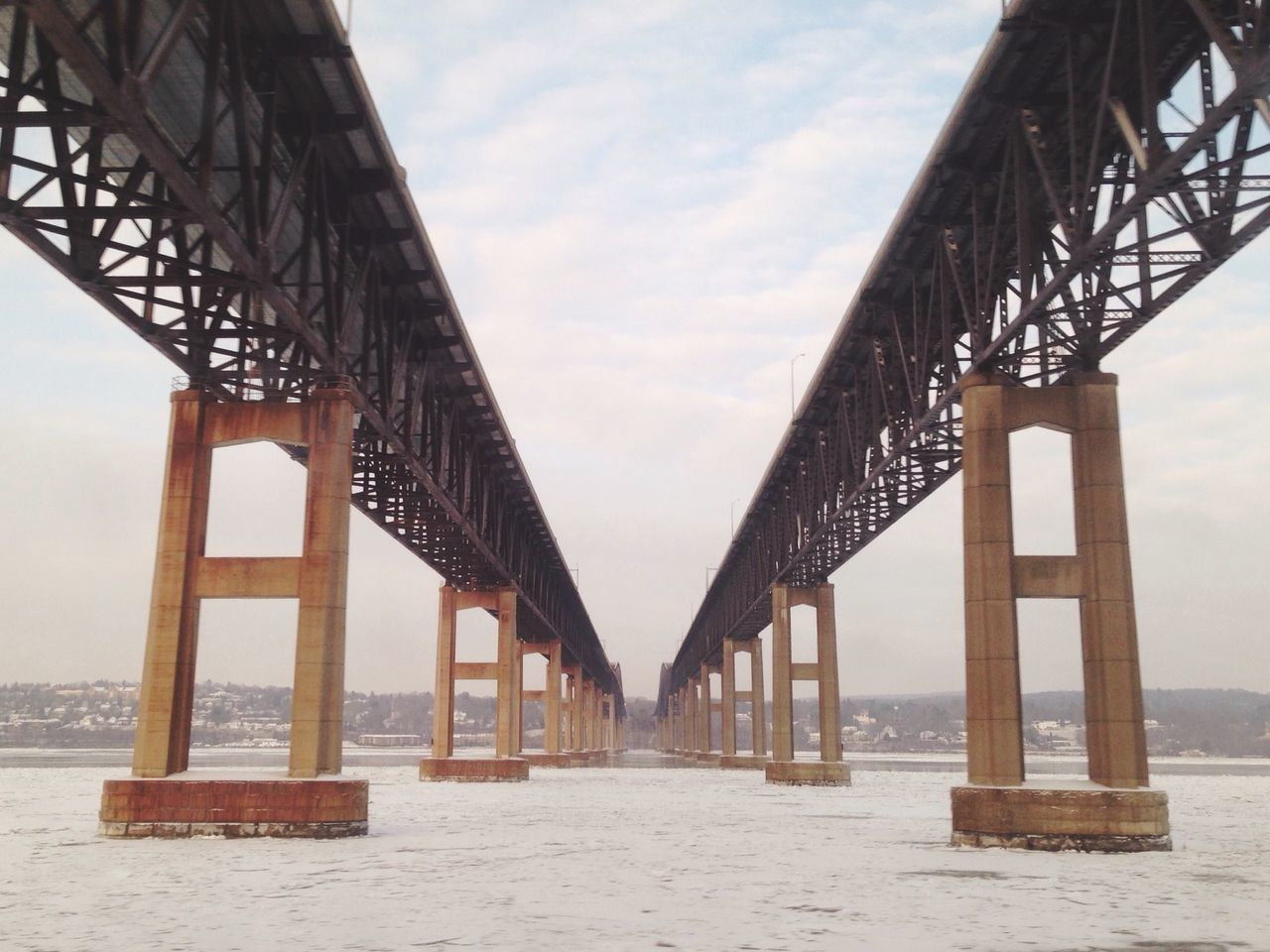 Beautiful stock photos of architecture, Bridge, Cloud, Cold Temperature, Connection
