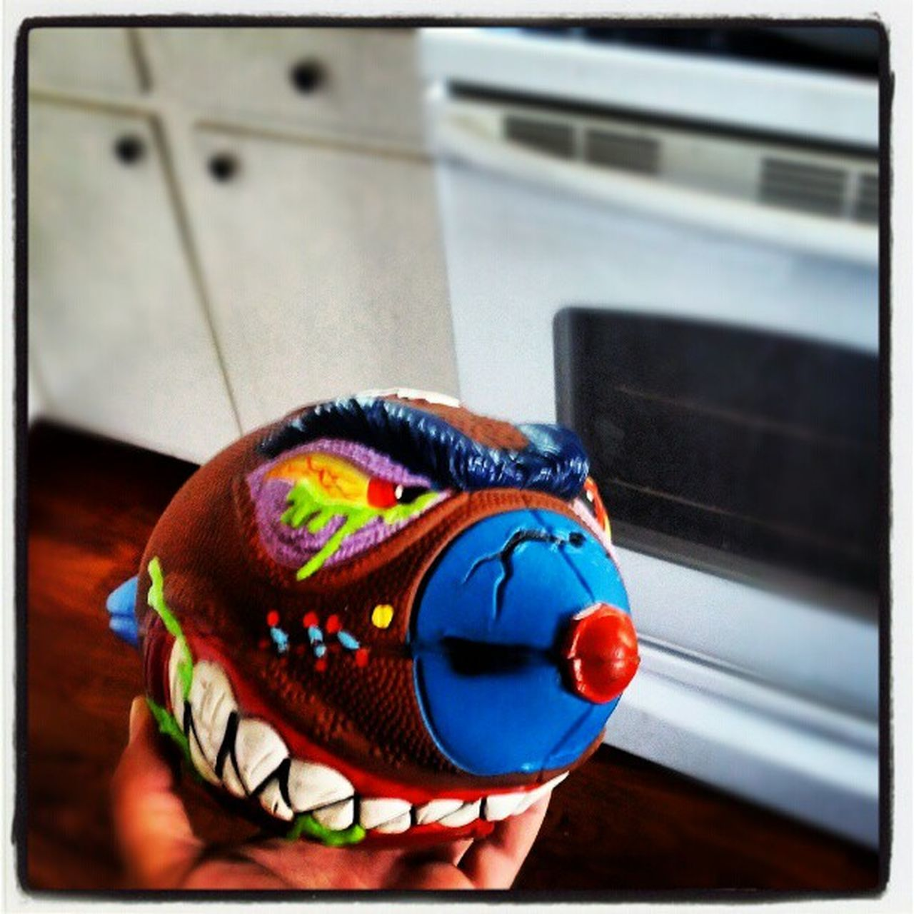 Look what I got in the mail today....talk about a blast from the past....Supermadballs Madballs Touchdownterror