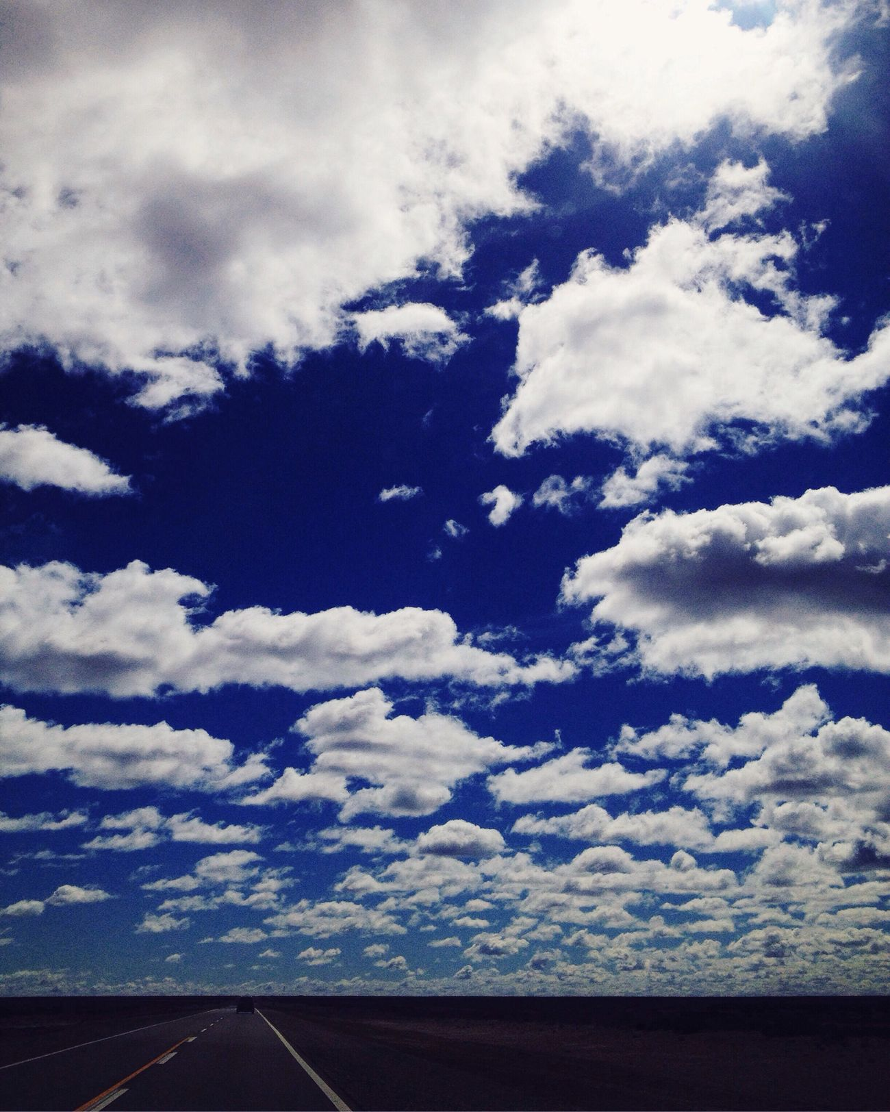 Route Cloud - Sky No People Day Sky Clouds And Sky IPhoneography Ontheroad