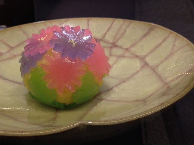 Meal Sweet Food Dessert Close-up Still Life Selective Focus Multi Colored Flower Wagashi Japanese Food Traditional Food Sweet Food Sweet♡ Sweettooth Pottery Interior Design Sphere Cute Lovely Pastel Colors Spheres Pastel Colours