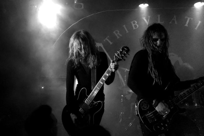 .::Tribulation::. Tribulation Blackandwhite Awesome Performance Great Venue Live Music Music MADE IN SWEDEN Metal Concert Black And White Excellence