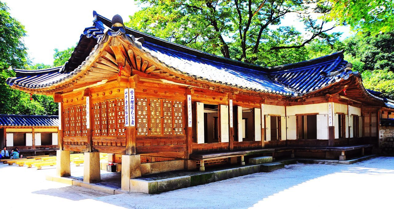 Hanok Is A Term To Describe Korean Traditional Houses Eyeem