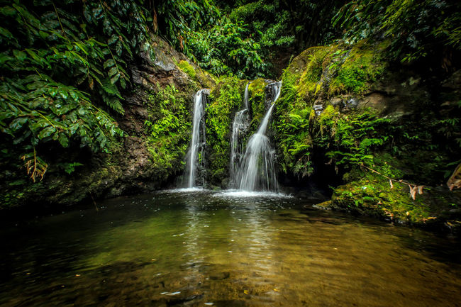 Azores Beauty In Nature Island Lake Nature River Sao Miguel- Azores Water Waterfall