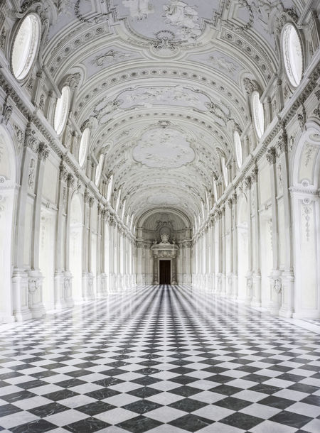 Italia Piedmont Italy Piemonte Arch Architectural Column Architecture Built Structure Ceiling Corridor Day Indoors  Italy No People Pattern Piedmont Reggia Symmetry The Way Forward Venaria Reale White Color