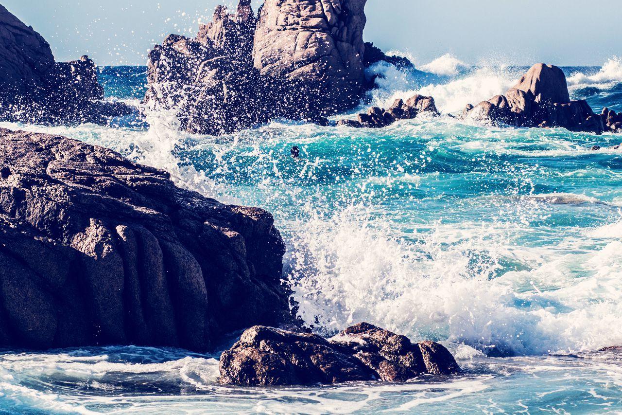 Sea Water Nature Wave Beach Sardegna Sardinia Italy Costa Paradiso First Eyeem Photo