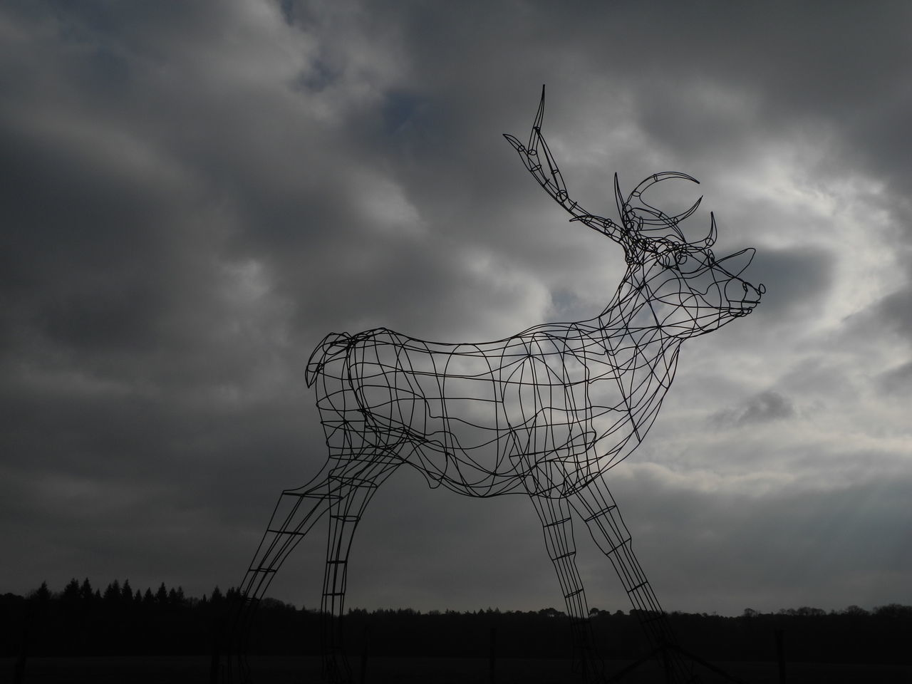 Arche de la nature 3D Art Cloud - Sky Deer Nature Outdoors Outside Art Sculpture Sky
