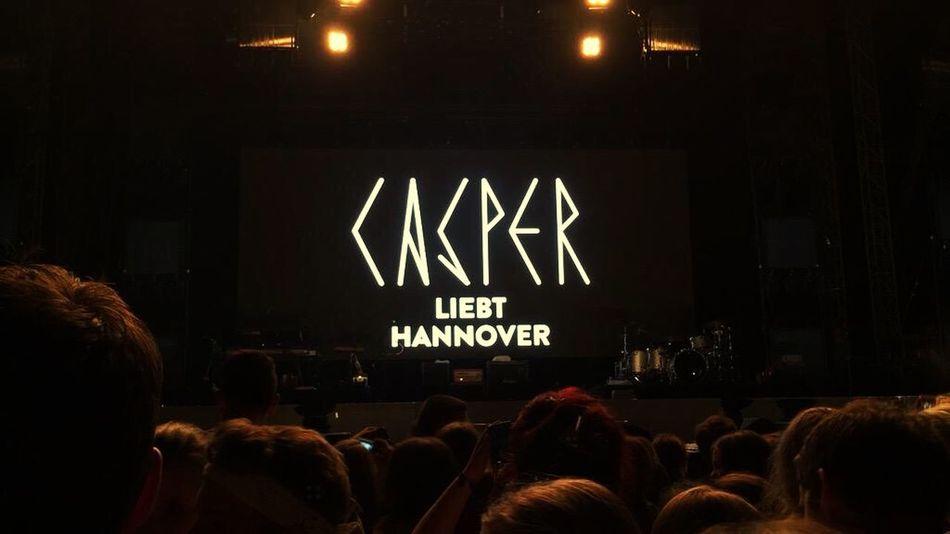 Casper Taking Photos Enjoying Life Music Hannover Concert