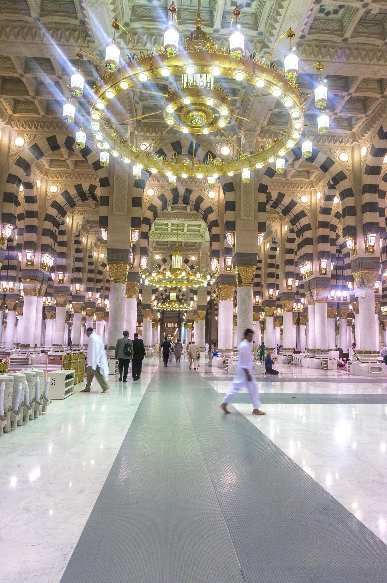 Allah Architecture Building Exterior Hajj Medina Mosque MUHAMMAD Muslim Muslim Brothers Nabawi Mosque Place Of Worship Pray Religion Solat Umrah