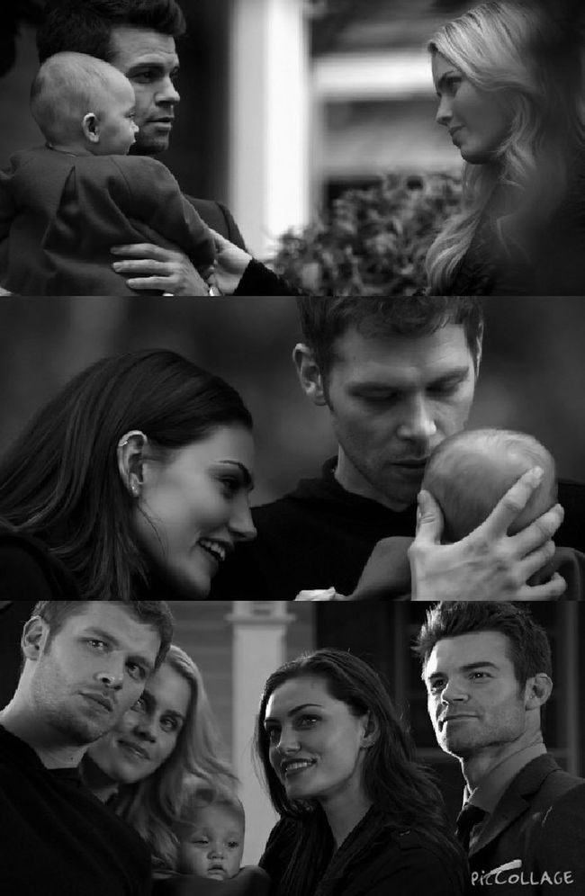 The Mikaelson Family. Always and Forever. Evening Editing Photo Editing