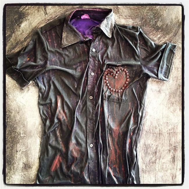 La camisa y el corazón del poeta Negua Art Arte