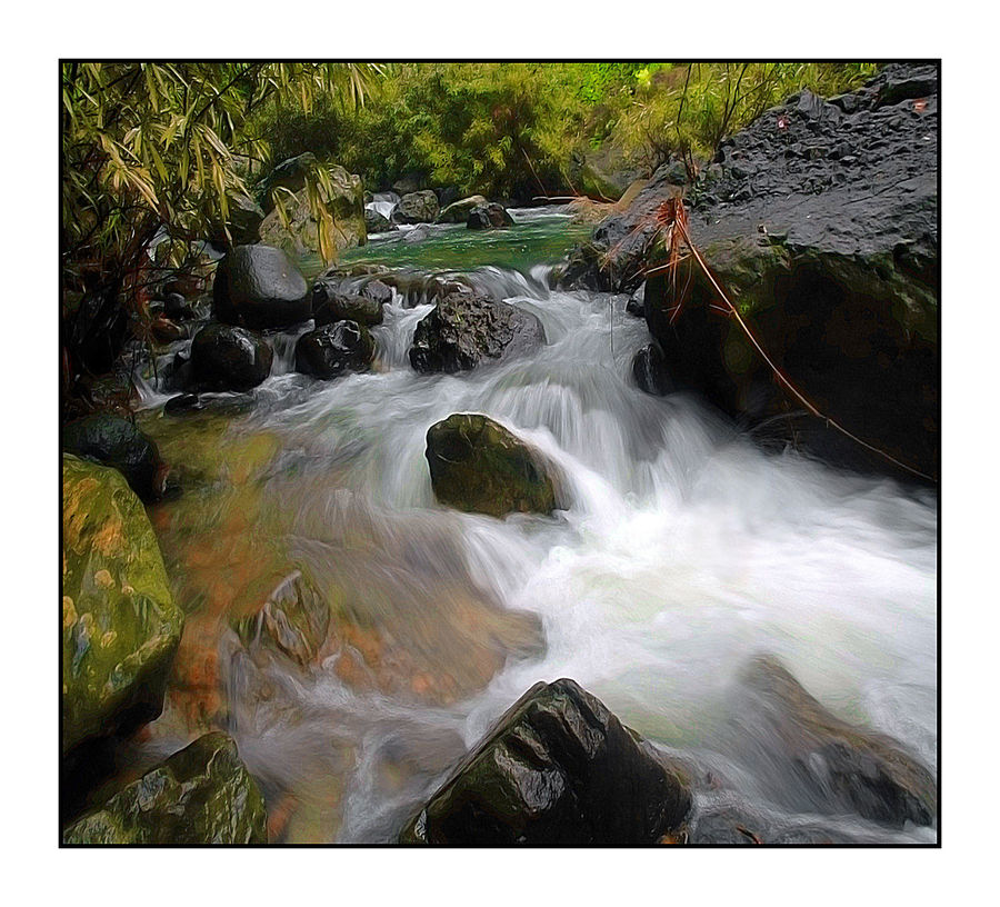 Adventure Beauty In Nature Blurred Motion Day Flowing Flowing Water Joel Yonzon Landscape_Collection Long Exposure Motion Mountain Nature Outdoors Power In Nature Rock Rocks Scenics Streamzoofamily Water