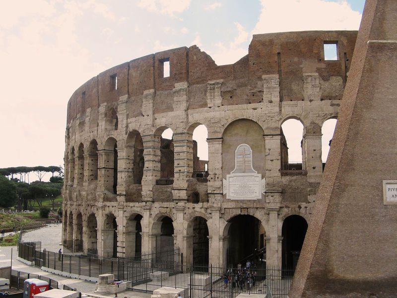 Arcade Architectural Column Architecture Built Structure City Cloud - Sky Coliseum Culture Day Famous Place From The Rooftop International Landmark Italy Kolosseum Outdoors Photo From The Car Rome Sky Tourism Travel Destinations Window