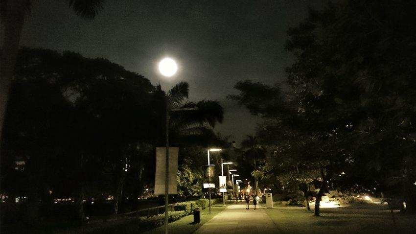 Check This Out Biking In The Street Supermoon 2014 Eye Em Nature Lover