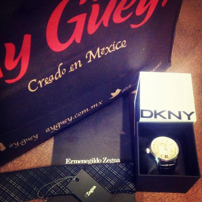 Perfecto día de compras. Zegna  DKNY AyGüey