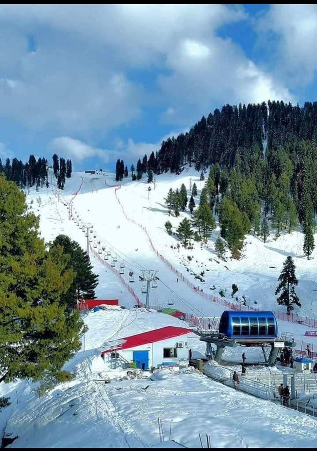 Hi! Mountain Simple Beauty Front View Mlamjaba Swat Pakistan