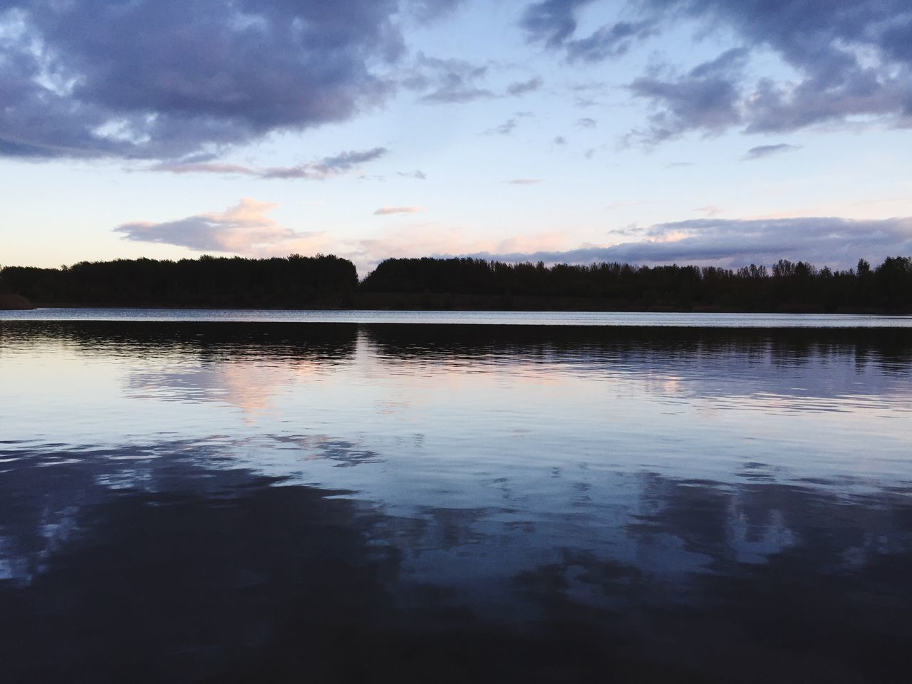 water, reflection, tranquility, lake, beauty in nature, tranquil scene, scenics, sunset, sky, cloud - sky, nature, no people, waterfront, outdoors, day, tree
