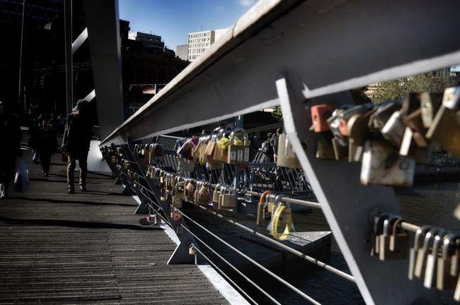 Melbourne Yarra River Bridge Love Locks Love Locks Bridge Love ♥ Close-up Outdoors Day City