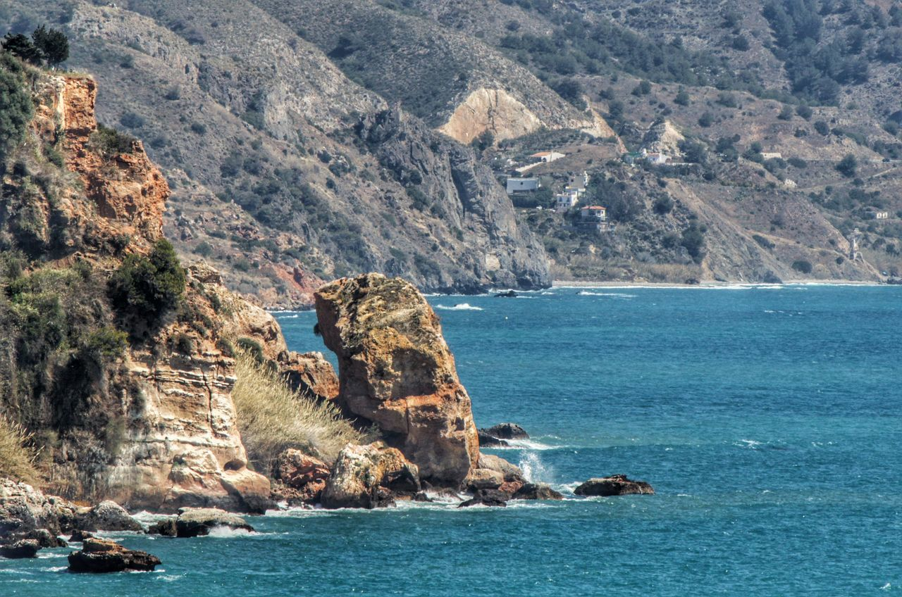 Cliff Geology Nature Nerja Nerja Andalucia Nerja Coast Rock Rock - Object Rock Formation Rocks And Sea Rocky Coastline Rocky Mountains Scenics Sea Sea View Sea View Mountain Sea Views Tranquility Water Waterfront