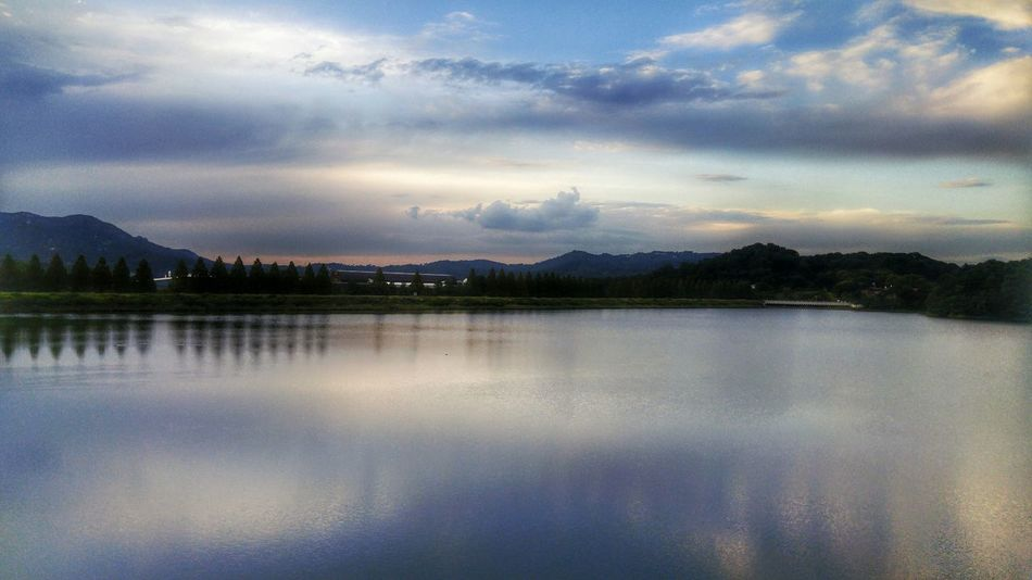 LGG4 Mobilephotography Water_collection Water Reflections EyeEm Nature Lover EyeEm Best Shots Lake at Seoulland, South Korea