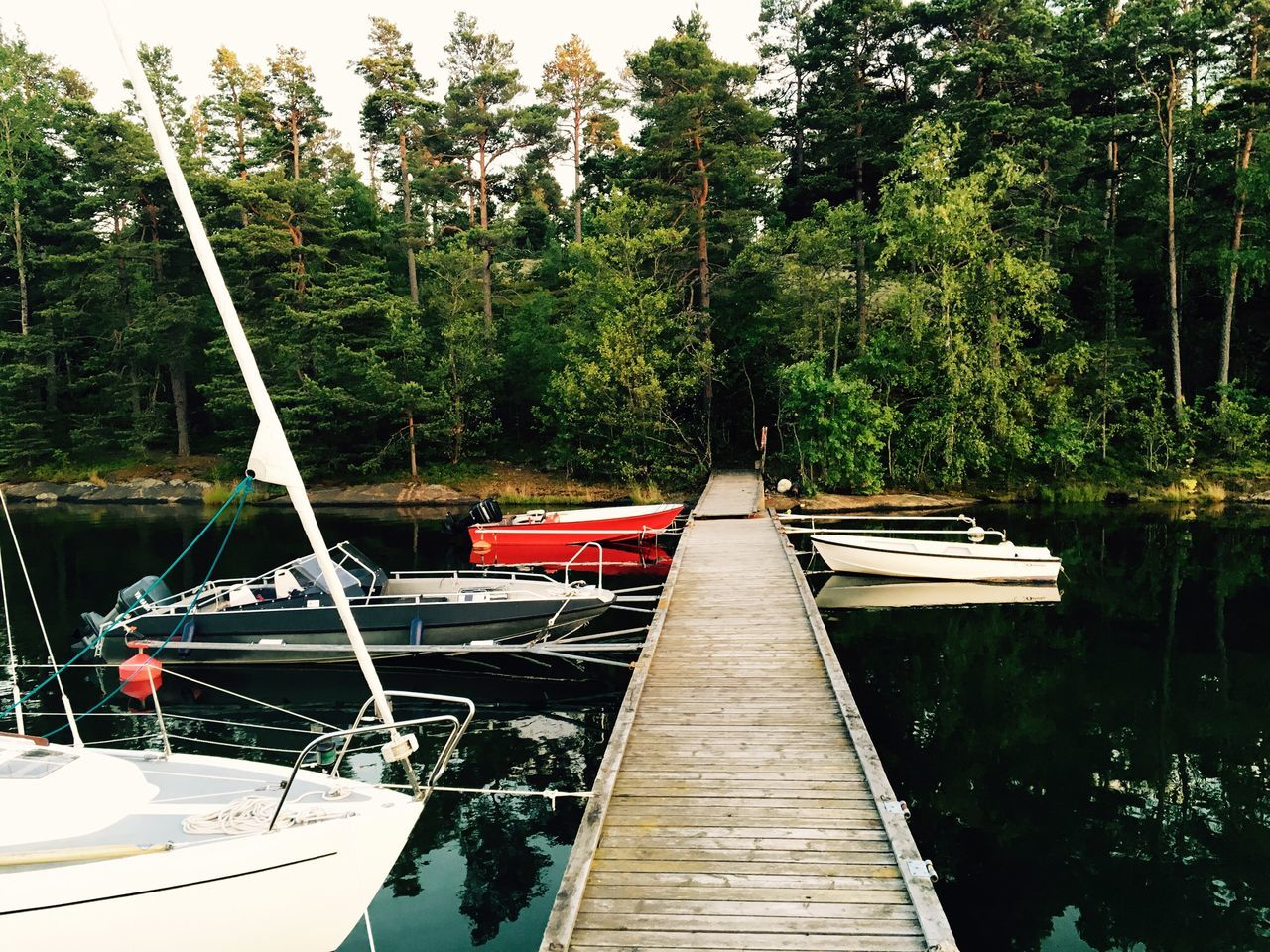 Boat Boats Relaxing Nature Bridge Fishing Fishing Boat Fishing Time Vacation Water Östersjön Küsten Coast